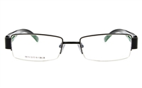 Dolce Luxy 6619 Stainless Steel Semi-rimless Unisex Optical Glasses