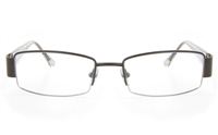 ZB ZB023 Unisex Semi-rimless Square Optical Glasses
