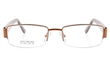 Forever Vision 8805 Womens Semi-rimless Optical Glasses - Oval Frame