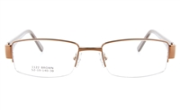 I-View 1122  Womens Semi-rimless Optical Glasses - Square Frame