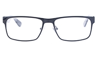 Vista First 1624 Stainless Steel/ZYL  Mens Square Full Rim Optical Glasses