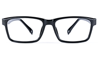 Poesia 3028 Unisex Square Full Rim Optical Glasses