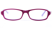 Vista Kids 0514 Acetate(ZYL)  Child Oval Full Rim Optical Glasses