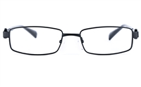 Poesia 6635 Unisex Rectangle Full Rim Optical Glasses