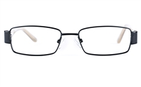Vista Kids 5813 Stainless Steel/ZYL  Child Square Full Rim Optical Glasses
